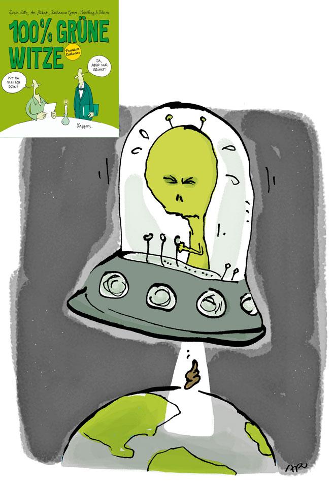 grünen witze