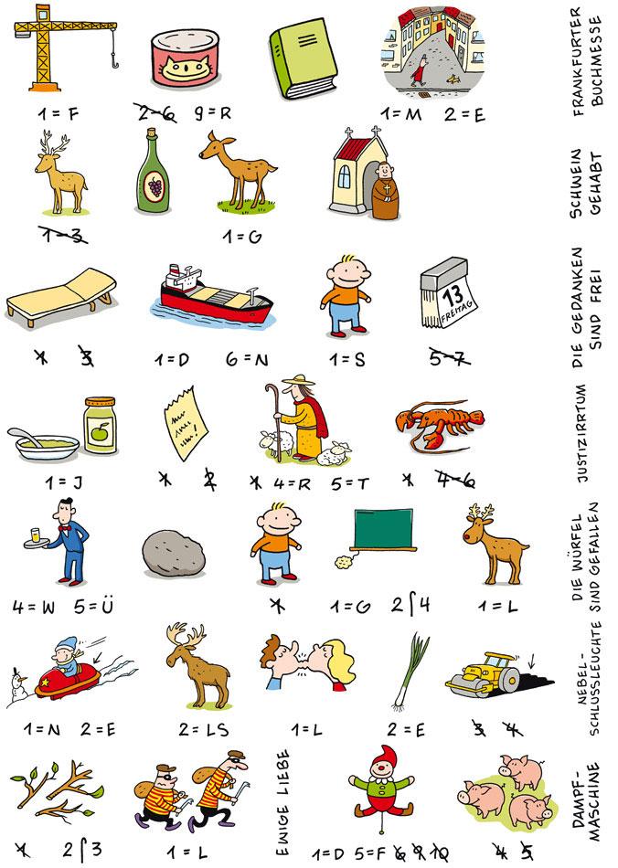 Großartig Druckbare Bilderrätsel Für Kinder Fotos - Druckbare ...